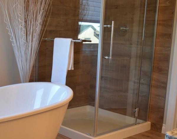 vollverglasung duschkabine stabil