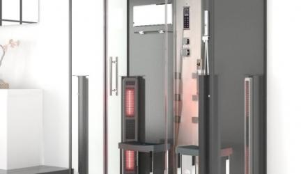 Infrarot-Dampfdusche Tinos: FAST die beste Dampfsauna für zuhause